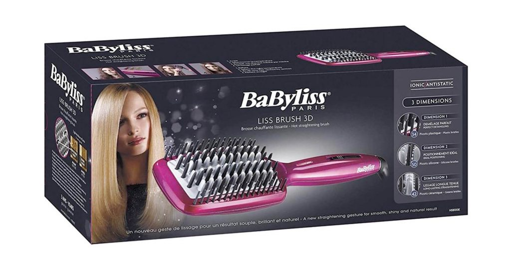 babyliss spazzola lisciante
